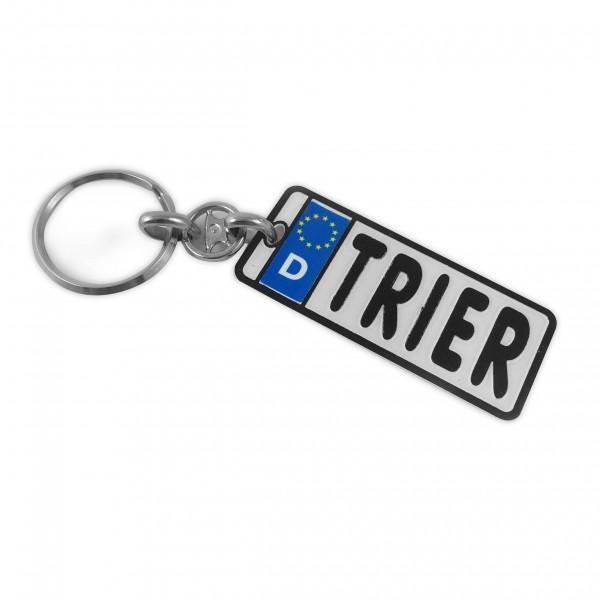 Schlüsselanhänger 'Autokennzeichen Trier'