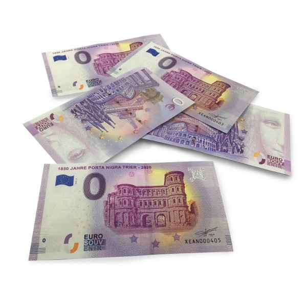 Porta Nigra 0 € - Souvenirschein
