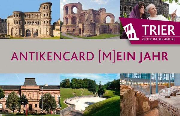 Antikencard (M)ein Jahr (ONE Year Ticket 2019)