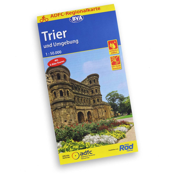 ADFC Cycling map Trier and surroundings