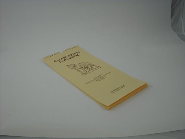 Calendarium Romanum