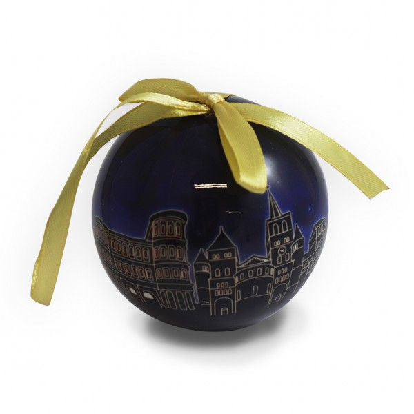 Trier blue bauble