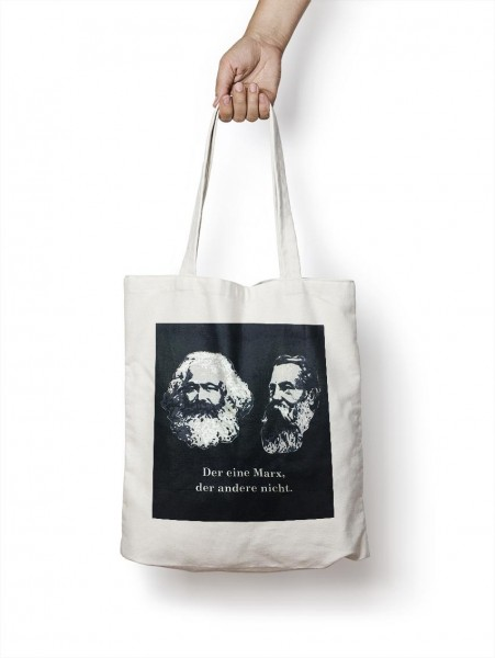 Cotton bag: - Karl Marx & Engels