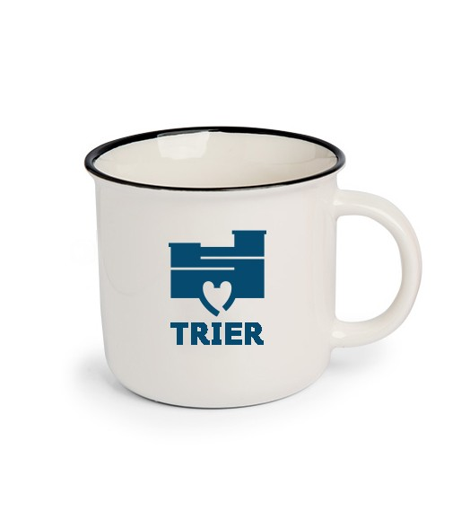 Mug with fan logo