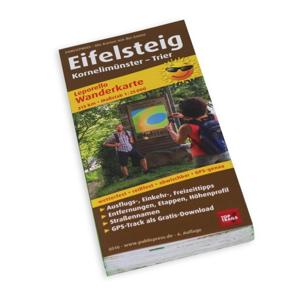 Hiking Map Eifelsteig
