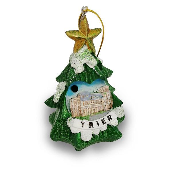 Flashing Christmas tree with Porta Nigra