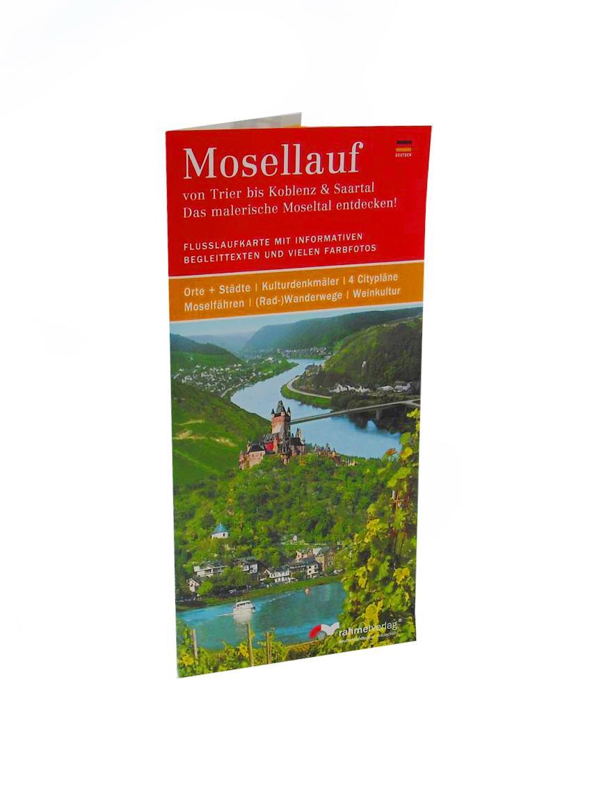 Karte Koblenz.Mosellauf Inkl Karte Von Trier Bis Koblenz