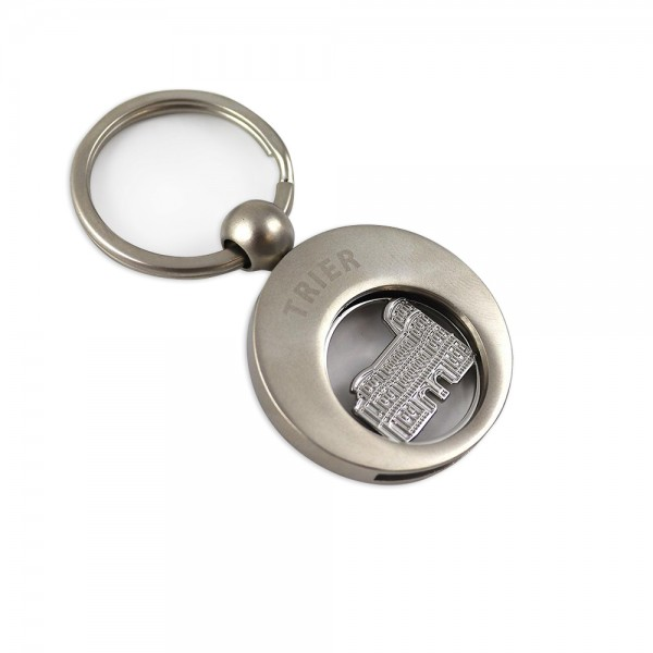 Trier Key Chain + trolley coin