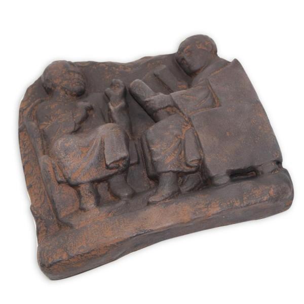 Schulszene 2er - Römisches Relief