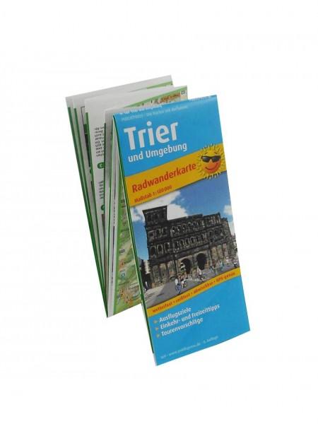 Radwanderkarte Trierer und Umgebung