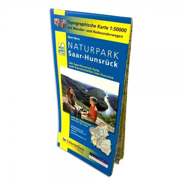 Hiking- and Cycling routes nature park Saar-Hunsrück