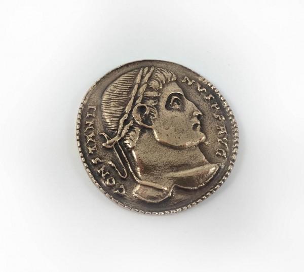 Constantin coin bronze