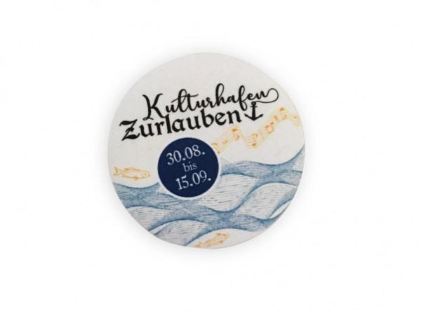 """Kulturhafen Zurlauben """"Solidaritätsbutton"""""""