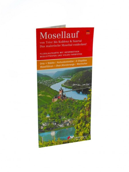 The Moselle incl. Map from Trier to Koblenz